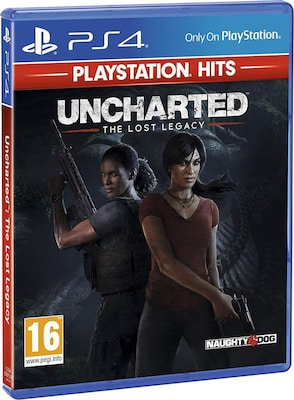 Uncharted: Αναζητώντας τον Χαμένο Θρύλο Playstation Hits - PS4 Game