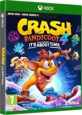 Crash Bandicoot 4: It's About Time - Xbox One Game