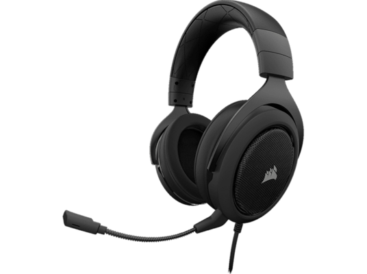 Corsair HS50 Pro Stereo - Wired Gaming Headset  Μαύρο/Carbon