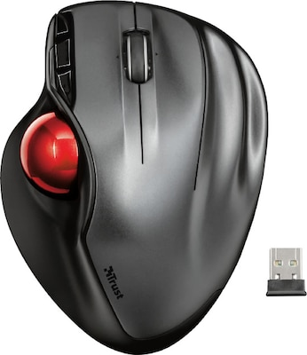 Trust Wireless Trackball Mouse Sferia - Ασύρματο Ποντίκι Bluetooth- Μαύρο