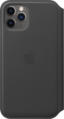 Θήκη iPhone 11 Pro - Apple Leather Folio - Black