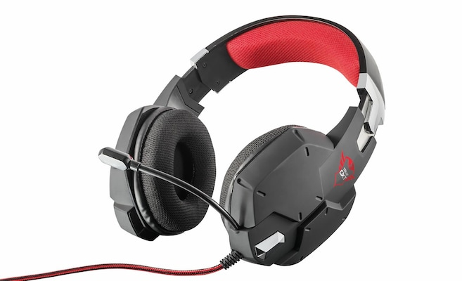 Gaming Headset TRUST GXT 322 Carus Gaming Headset - black