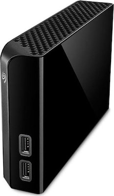 Seagate Backup Plus Hub 4tb, Usb 3.0, Black (stel4000200)