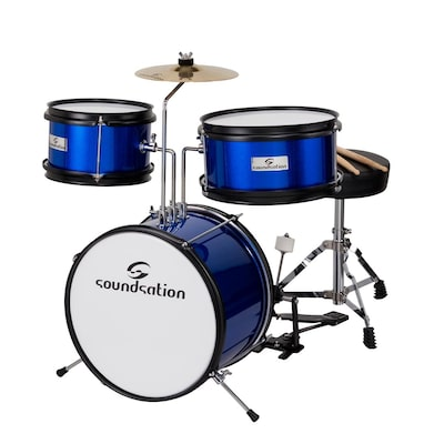 Soundsation Jdk313 Metallic Blue Παιδικό Σετ Drums