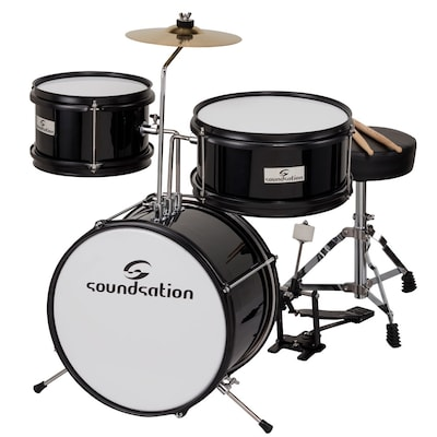 Soundsation Jdk313 Black Παιδικό Σετ Drums
