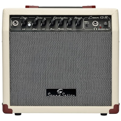 Ενισχυτής Κιθάρας Soundsation Cream-15r Vintage Combo 15 Watt