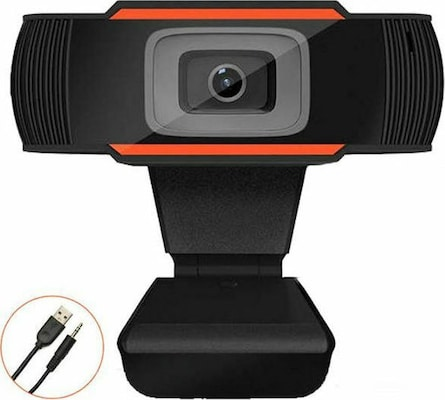 Lamtech - Web Camera HD 720p - Μαύρο
