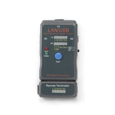 Cablexpert Cable Tester For Utp, Stp, Usb Cables Nct2