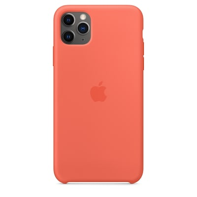 Θήκη iPhone 11 Pro Max - Apple Silicone Case -  Clementine (Orange)