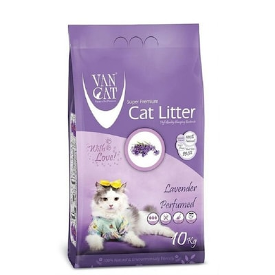 Van Cat Lavender Perfumed Ψιλή 10kg