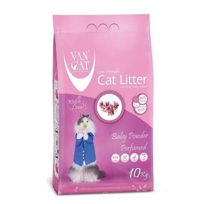 Van Cat Baby Powder Perfumed Ψιλή 5kg