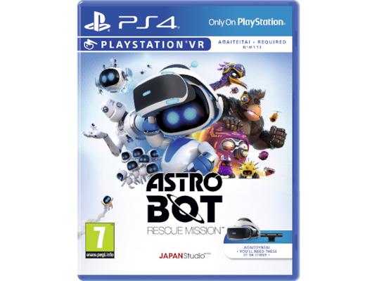Astro Bot: Rescue Mission - PS4 Game/PSVR Game