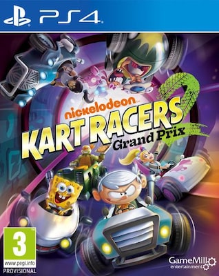 Nickelodeon Kart Racers 2: Grand Prix - PS4 Game