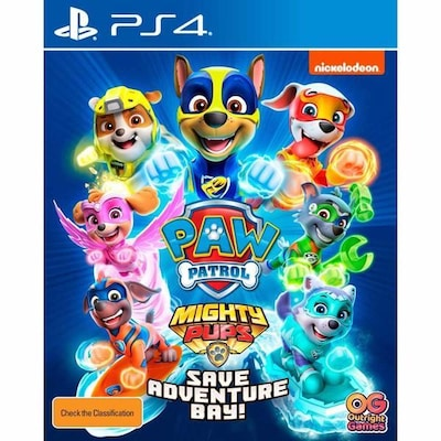 Paw Patrol Mighty Pups Save Adventure Bay - PS4 Game