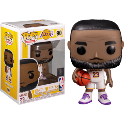 Funko Pop Nba: La Lakers - Lebron James (alternate) 90 Vinyl Figure