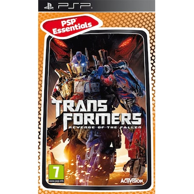 Psp Game - Transformers Revenge Of The Fallen Essentials New