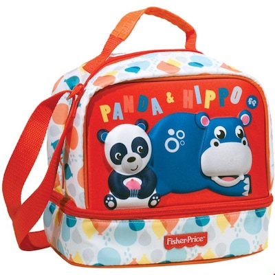 Tσαντάκι Φαγητού GIM Fisher Price Panda & Hippo