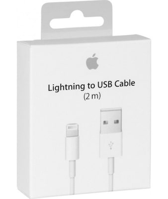 Καλώδιο Lightning to USB 2m - Apple MD819ZM/A Λευκό