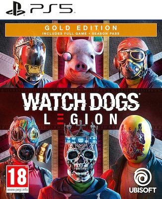PS5 Watch Dogs Legion Gold