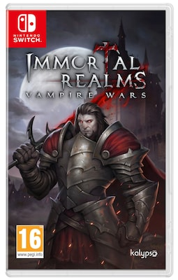 Immortal Realms Vapire Wars - Nintendo Switch Game