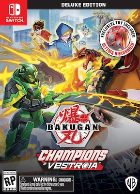 Bakugan: Champions of Vestroia Deluxe Toy Edition - Nintendo Switch Game