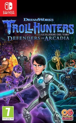 Trollhunters Defenders Of Arcadia - Nintendo Switch Game