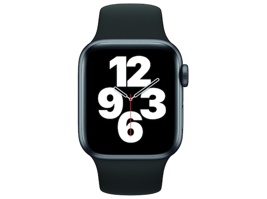 Apple Watch SE 40mm Space Gray Sport Band Black