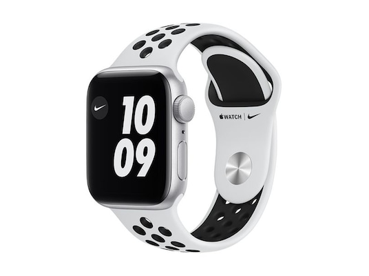 Apple Watch SE Nike 40mm Silver Aluminum Pure Platinum Sport Band