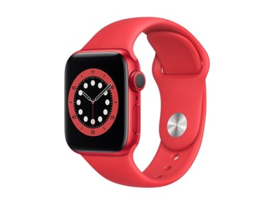 Apple Watch Series 6 40mm Aluminum Product Red Sport Band