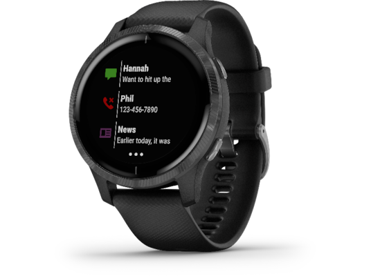 Smartwatch Garmin Venu Μαύρο