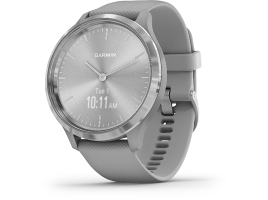 Smartwatch Garmin Vivomove 3 Γκρι / Ασημί