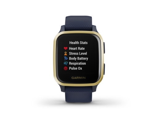 Smartwatch Garmin Venu SQ - Navy/Light Gold