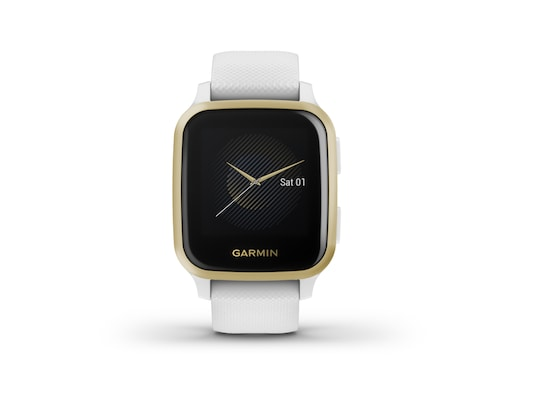 Smartwatch Garmin Venu SQ - White/Light Gold