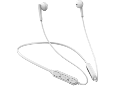 Ακουστικά Bluetooth Neckband Crystal Audio - Λευκό