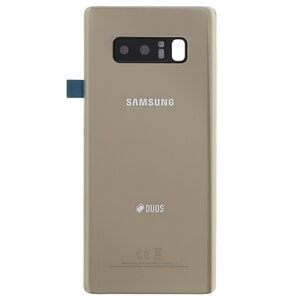 Samsung Galaxy Note 8 N950f Duos Backcover Gold Πίσω Καπάκι Χρυσό