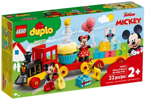 LEGO® Duplo Disney Mickey And Minnie Birthday Train (10941)