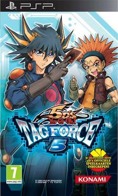 Yugioh Tagforce 5 Included Cards Psp