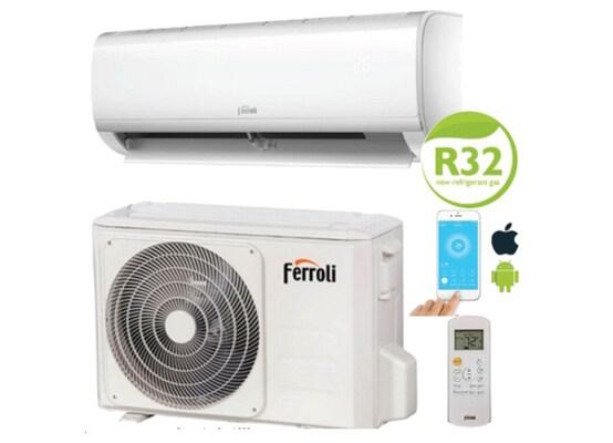 Κλιματιστικό Inverter Ferroli Diamant S  με Wifi Standard και Ιονιστή 9000 Btu
