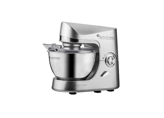 Κουζινομηχανή Μίξερ Ζαχαροπλαστικής Turbotronic Tt-002 Ασημί
