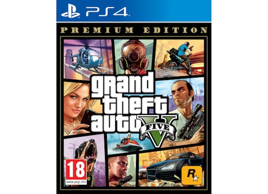 Grand Theft Auto V  Premium Edition - PS4 Game