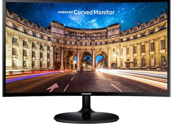 "Οθόνη υπολογιστή LED SAMSUNG LC27F390 27"" Full HD Curved Monitor, Super Slim, Curved 1800R, Wide-vi"