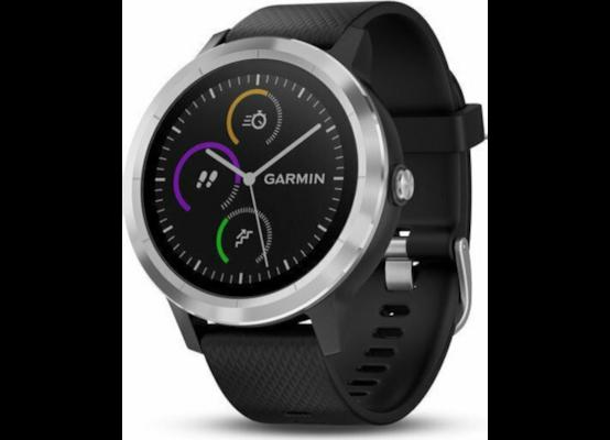 Smartwatch Garmin Vivoactive 3 43mm Μαύρο/Ασημί
