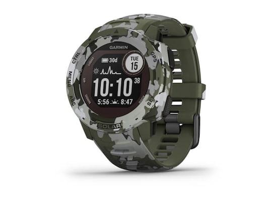 Smartwatch Garmin Instinct Solar Camo Green