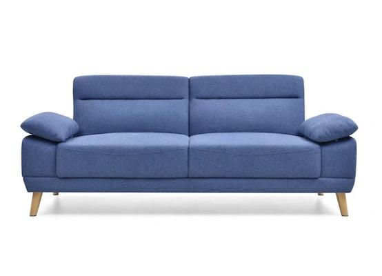 Καναπές Κρεβάτι Διθέσιος Fanny Μπλε 200x89x86cm
