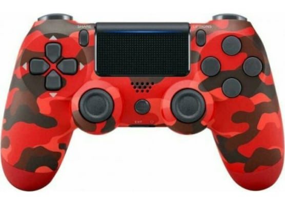 Doubleshock Wireless Controller Camouflage Red Ps4 Oem
